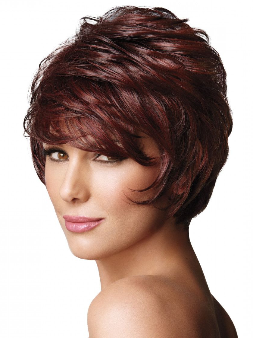 Dark-Auburn | Short Hairstyles | Pinterest | Dark Auburn, Synthetic pertaining to Auburn Short Hairstyles