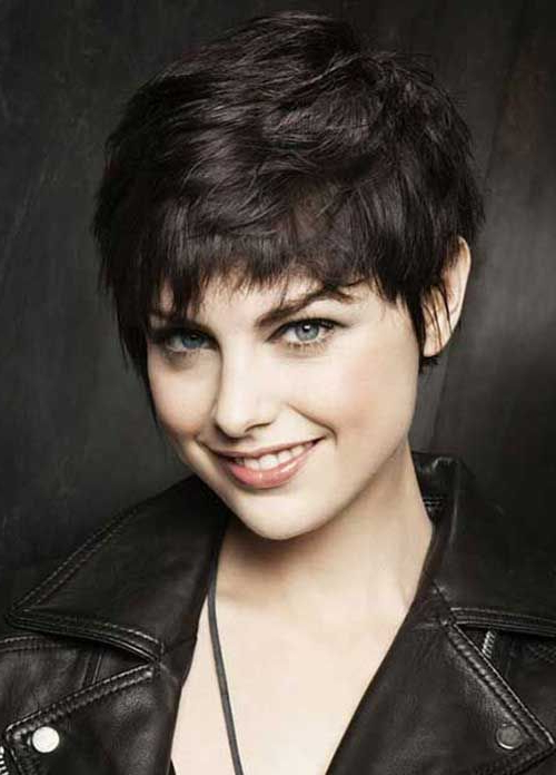 Dark Brown Pixie Cut | Hair Inspiration In 2018 | Pinterest | Hair Pertaining To Long Feathered Espresso Brown Pixie Hairstyles (Gallery 8 of 25)