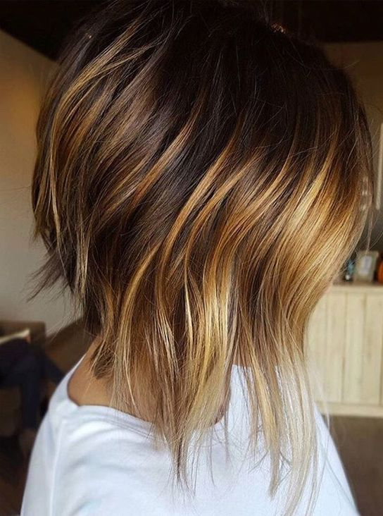 Dark Hair Color With Highlights For Short Hairstyles 2018 within Dirty Blonde Pixie Hairstyles With Bright Highlights
