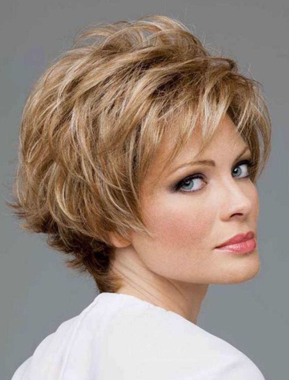 Dashing Short Haircut For 2018 Women Over 40 To 60 – Hairstyles With Short Hairstyle For Over 40 (Gallery 16 of 25)