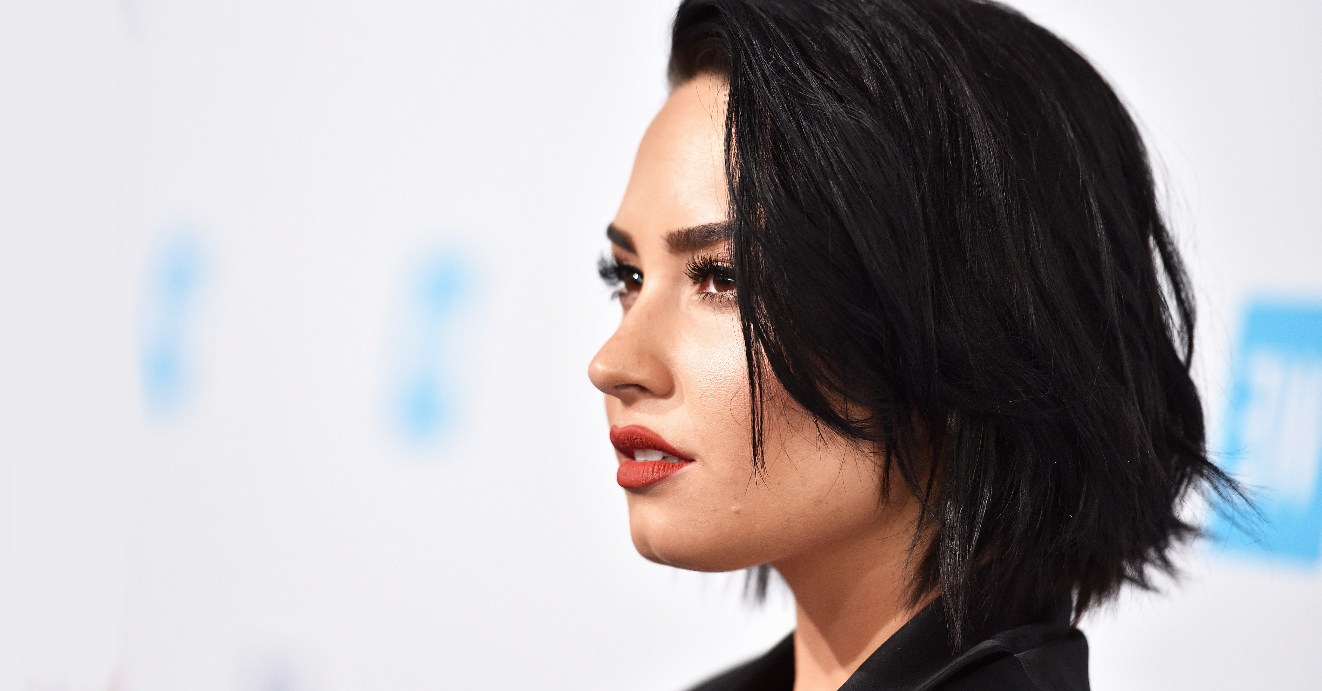 Demi Lovato Looks Incredible With Her New Ombré Hair | Glamour Throughout Demi Lovato Short Haircuts (View 10 of 25)