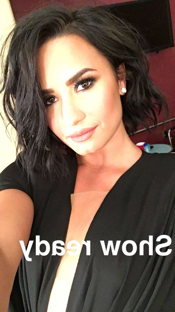 Demi Lovato News On | Hair | Pinterest | Hair, Hair Styles And Short In Demi Lovato Short Haircuts (Gallery 3 of 25)