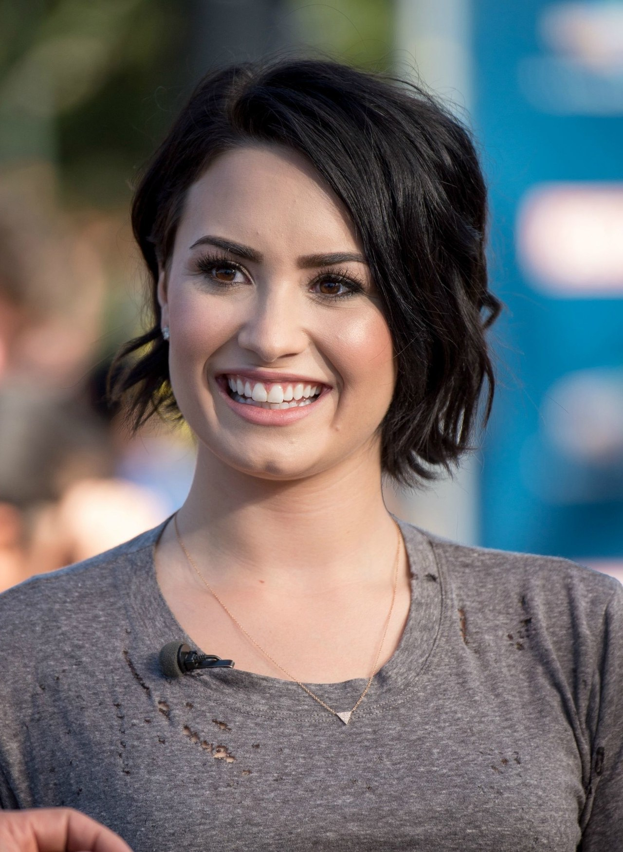 Demi Lovato's Short Haircut: Celebrity Beauty Ideas | Glamour regarding Demi Lovato Short Haircuts