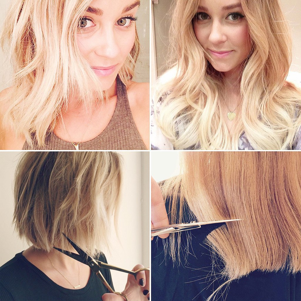 Do You Like Lauren's Hair Better Long Or Short? | Lauren Conrad's Intended For Lauren Conrad Short Haircuts (View 5 of 25)