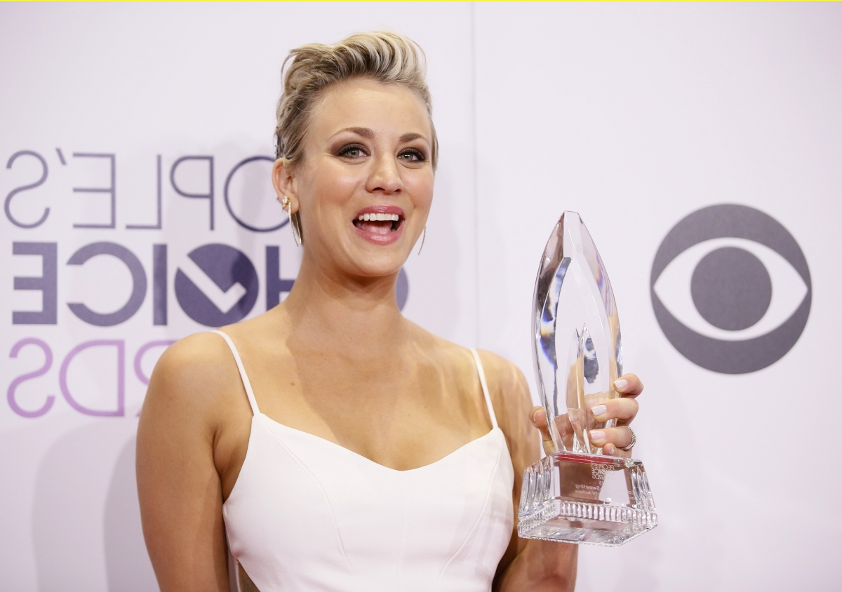 Does Kaley Cuoco's Hair Have Something To Do With 'the Big Bang intended for Short Hairstyles With Big Bangs