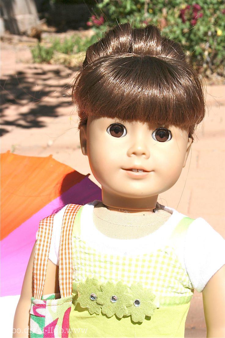 Doll Hair: The Fabulous Sock Bun For American Girl Dolls Tutorial regarding Hairstyles For American Girl Dolls With Short Hair