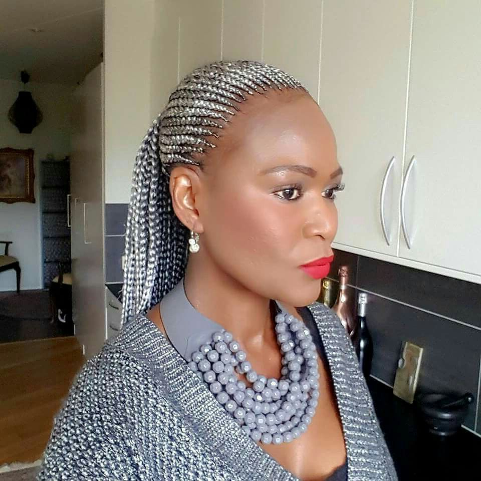 Don't Know What To Do With Your Hair: Check Out This Trendy Ghana With Regard To Short Hairstyles For Black Women With Gray Hair (View 22 of 25)