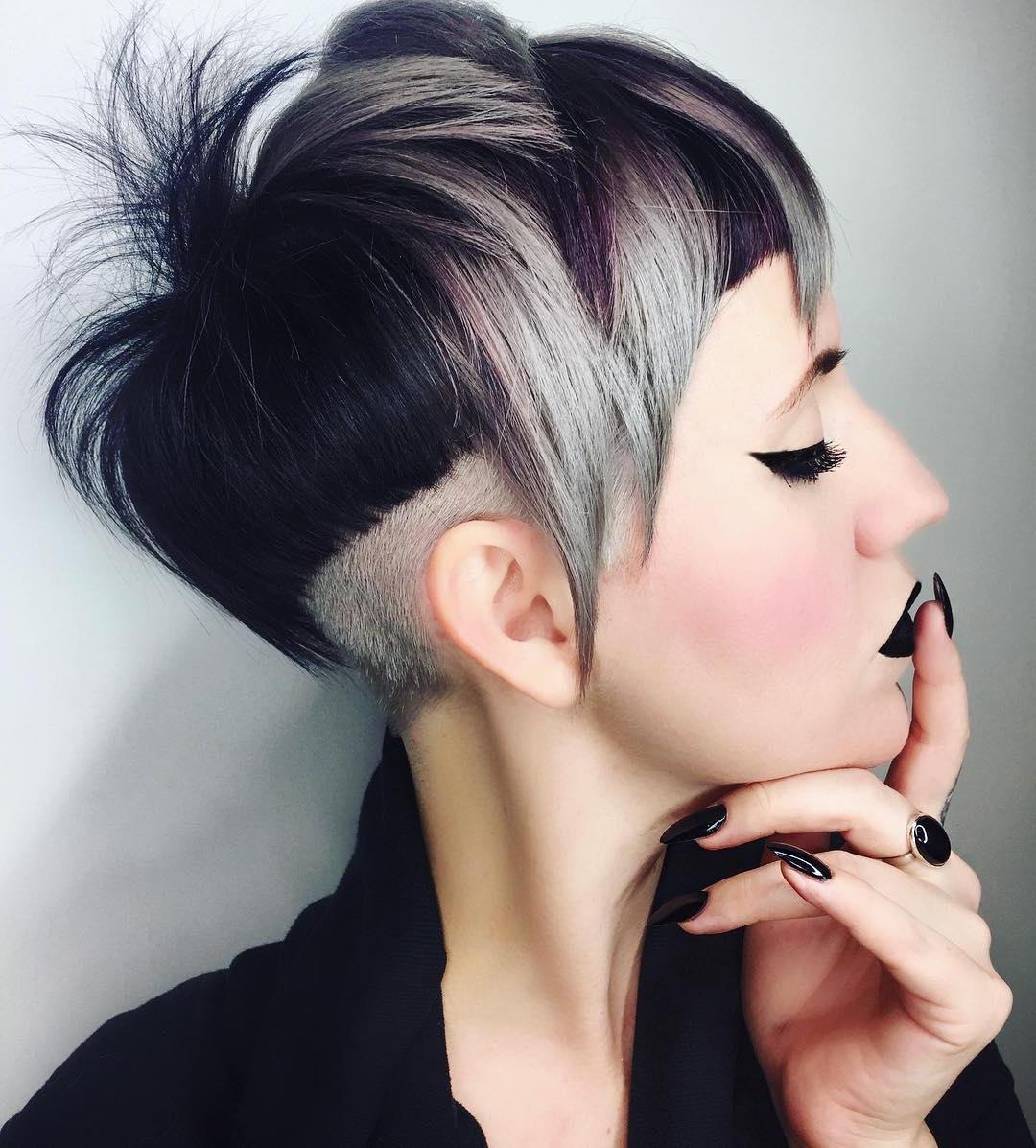 Dramatic Short Hairstyles – Best Short Hair Styles Pertaining To Dramatic Short Haircuts (View 7 of 25)