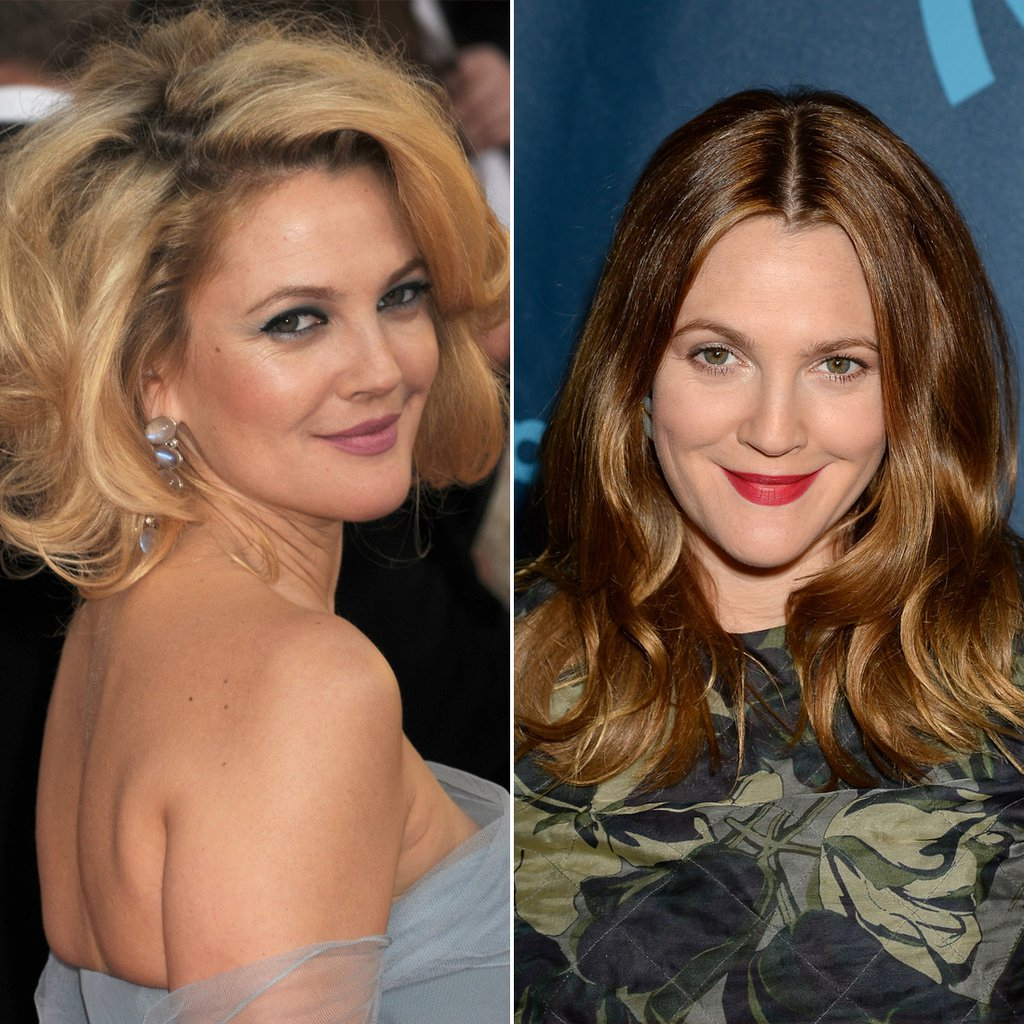 Drew Barrymore   Celebrities Who Cut Their Hair Short   Hairstyle intended for Drew Barrymore Short Hairstyles