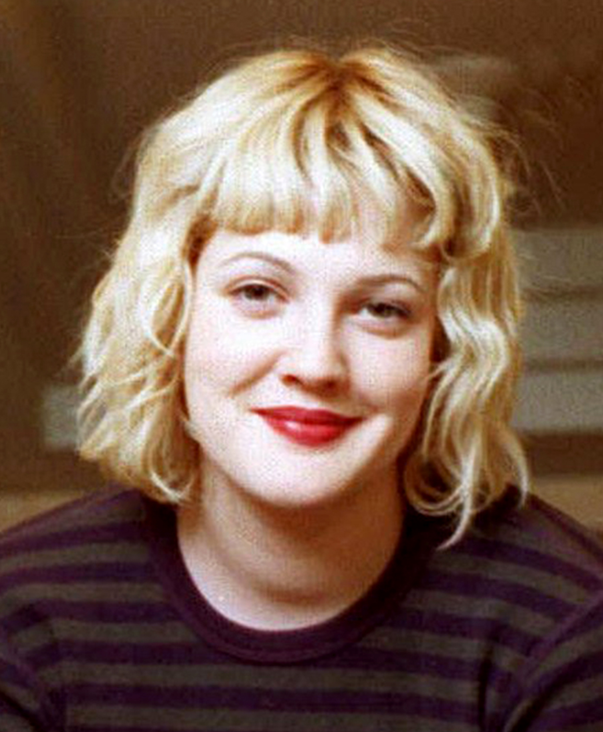 Drew Barrymore's Hair Evolution Throughout Drew Barrymore Short Haircuts (View 9 of 25)