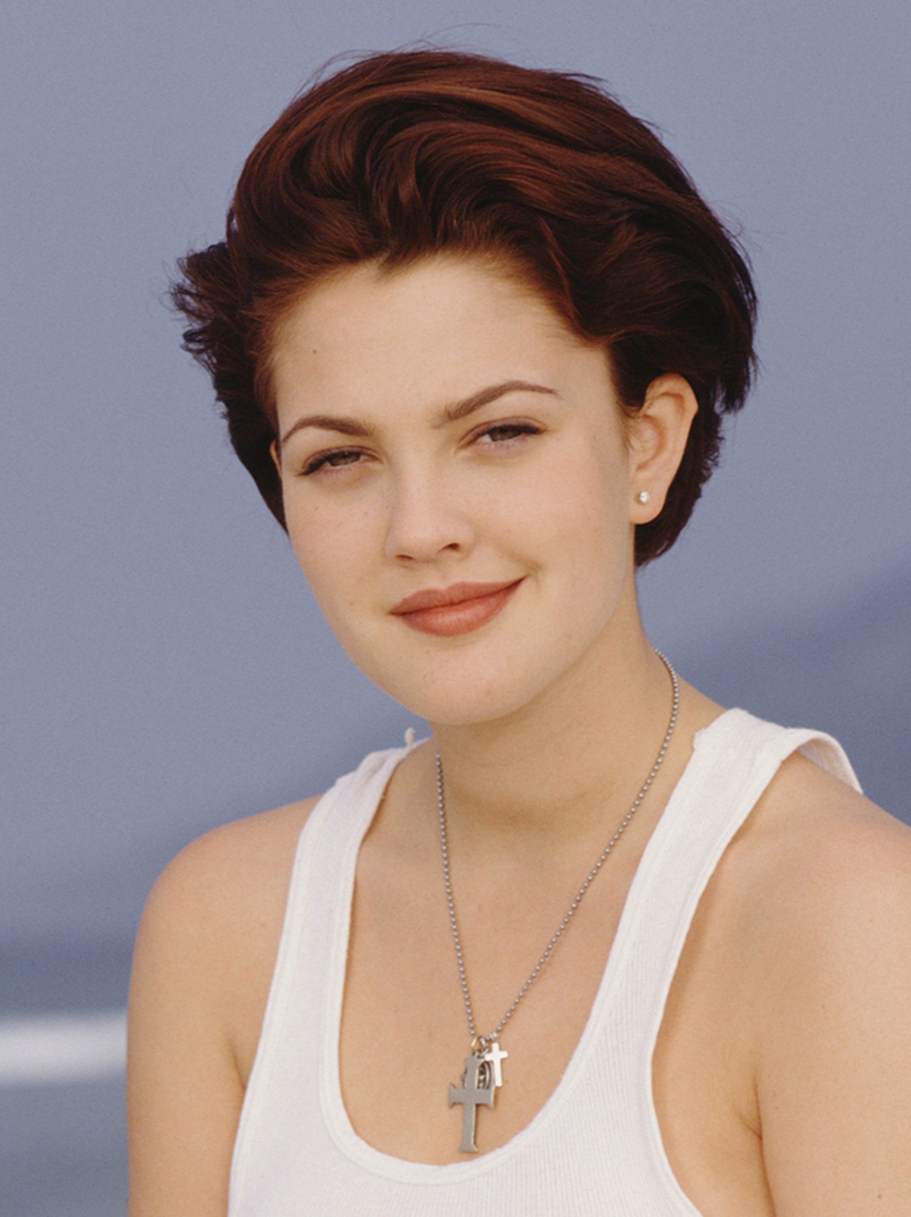 Drew Barrymore's Hair Evolution within Drew Barrymore Short Haircuts
