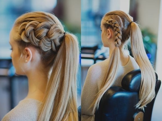Dutch Braid Pony Combo – 101 Pinterest Braids That Will Save Your With Regard To Pony And Dutch Braid Combo Hairstyles (View 18 of 25)
