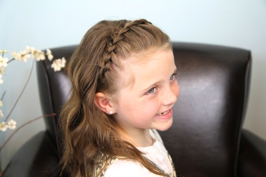 Dutch Lace Braided Headband | Braid Hairstyles | Cute Girls Hairstyles For Black Curly Ponytails With Headband Braid (Gallery 23 of 25)