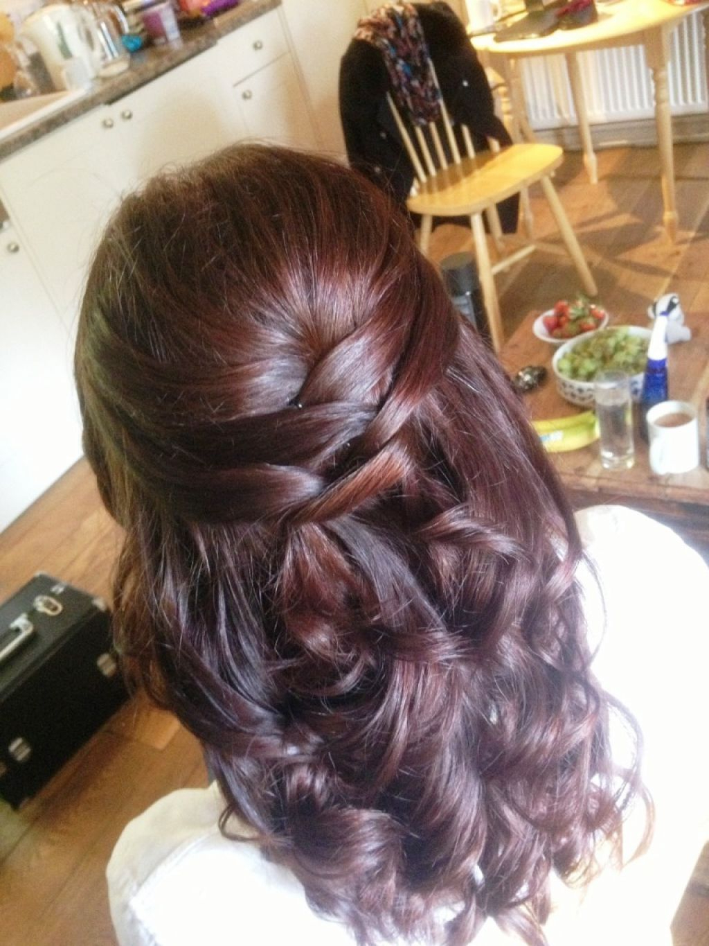 ? 24+ Awesome Bridesmaid Hairstyles For Medium Hair: Half Up Half For Half Up Half Down Short Hairstyles (View 10 of 25)