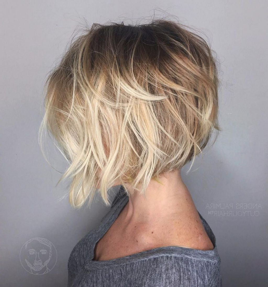 ? 24+ Best Short Hairstyles For Fine Wavy Hair: Hairstyles For Fine With Short Hairstyles For Wavy Fine Hair (View 11 of 25)