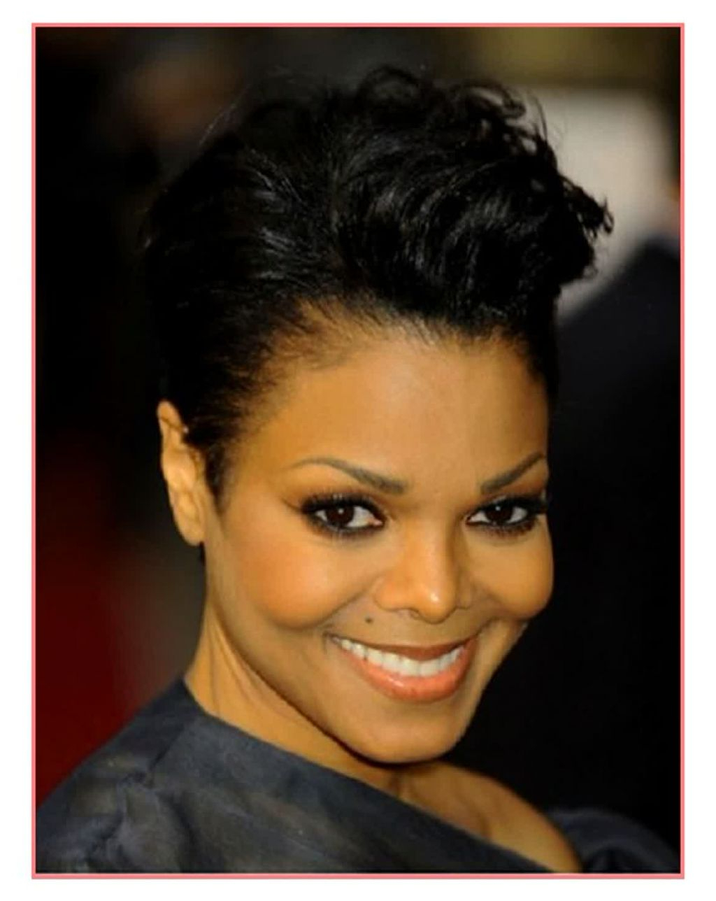 ? 24+ Inspirational Black Short Hairstyles For Round Faces: Awesome With Regard To Short Hairstyles For Black Round Faces (View 21 of 25)