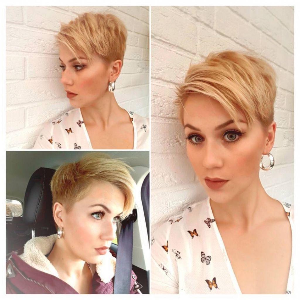? 24+ Inspirational Photos Of Short Hairstyles: 10 Short Hairstyles Inside Short Hairstyle For Over  (View 23 of 25)