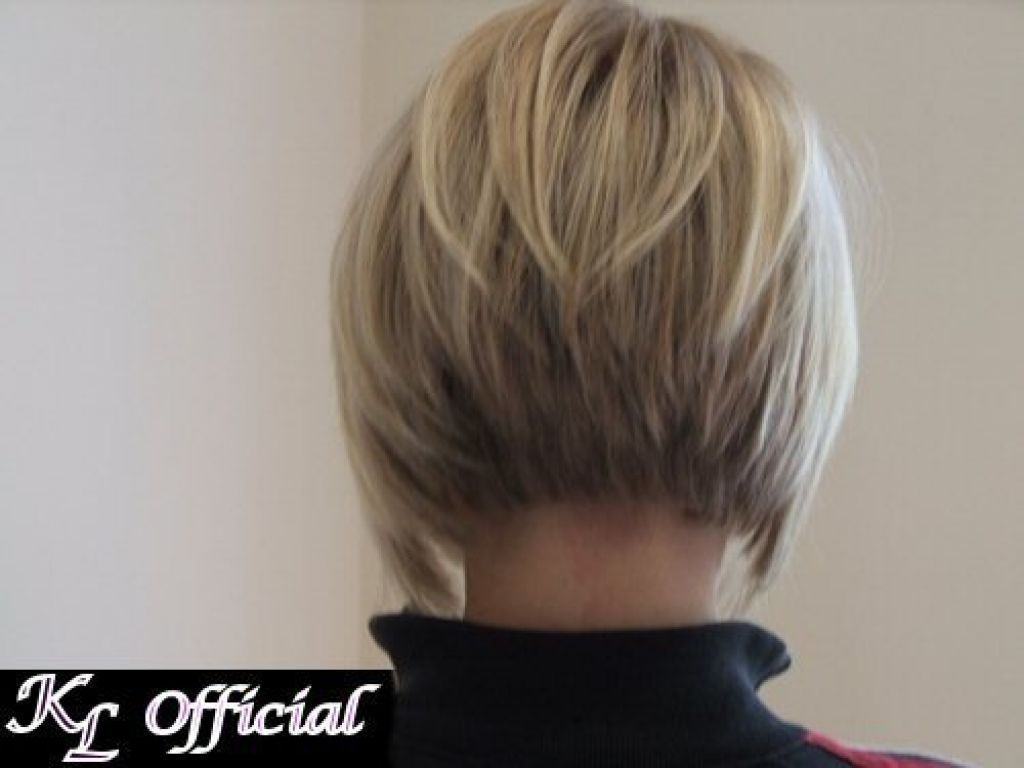 ? 24+ Nice Short Hairstyles Back View: Short Hairstyles Back View For Inverted Short Haircuts (View 21 of 25)