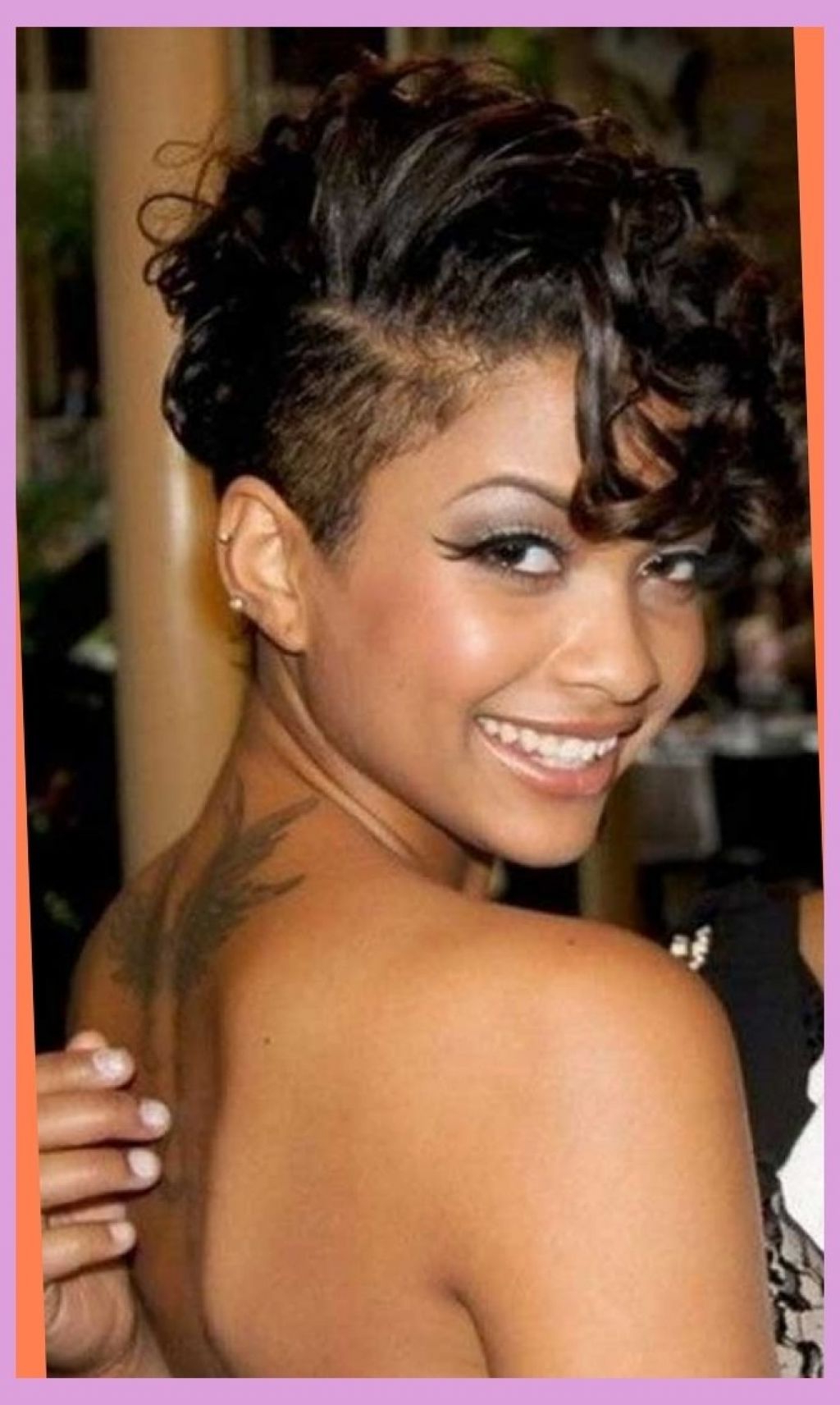 ? 24+ Unique Hairstyles With Shaved Sides: Cute Short Cuts With Throughout Short Haircuts With Shaved Side (View 19 of 25)