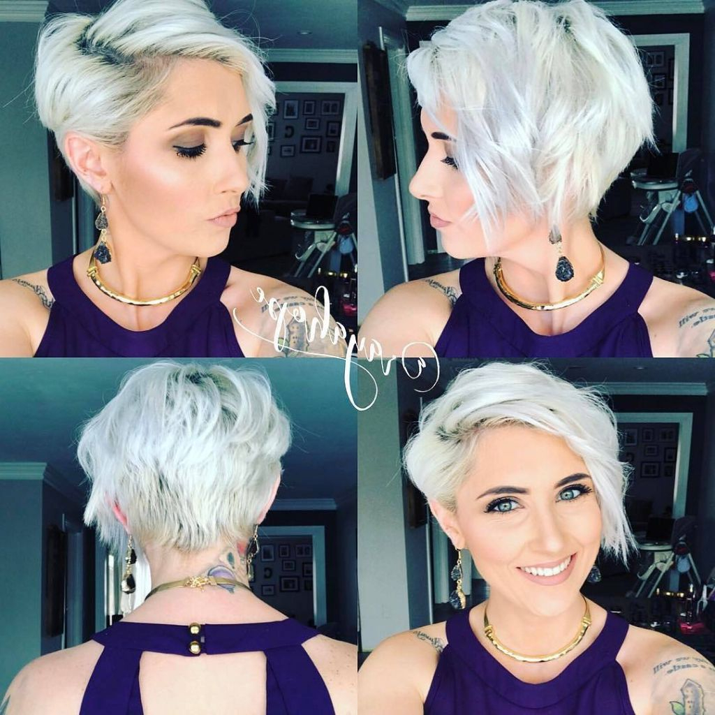 ? 24+ Unique Short Hairstyles For Fine Hair Oval Face: 40 Best Pertaining To Short Haircuts For Thin Hair And Oval Face (View 9 of 25)
