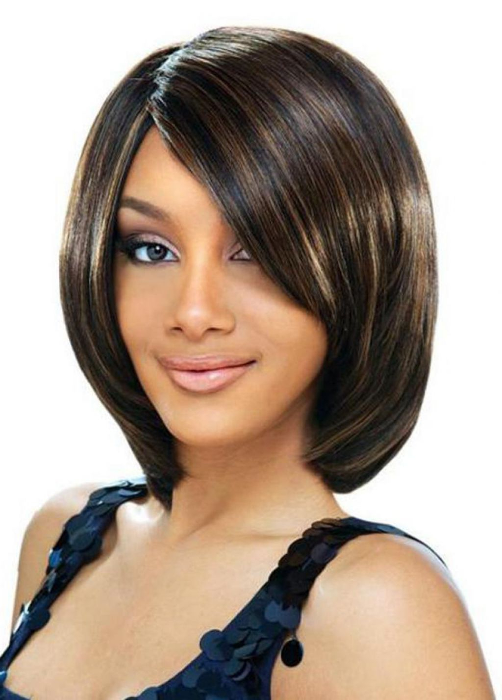 ? 24+ Wonderful Short Bob Hairstyles Black Hair: Pictures Of Cute For Short Layered Hairstyles For Black Women (View 21 of 25)