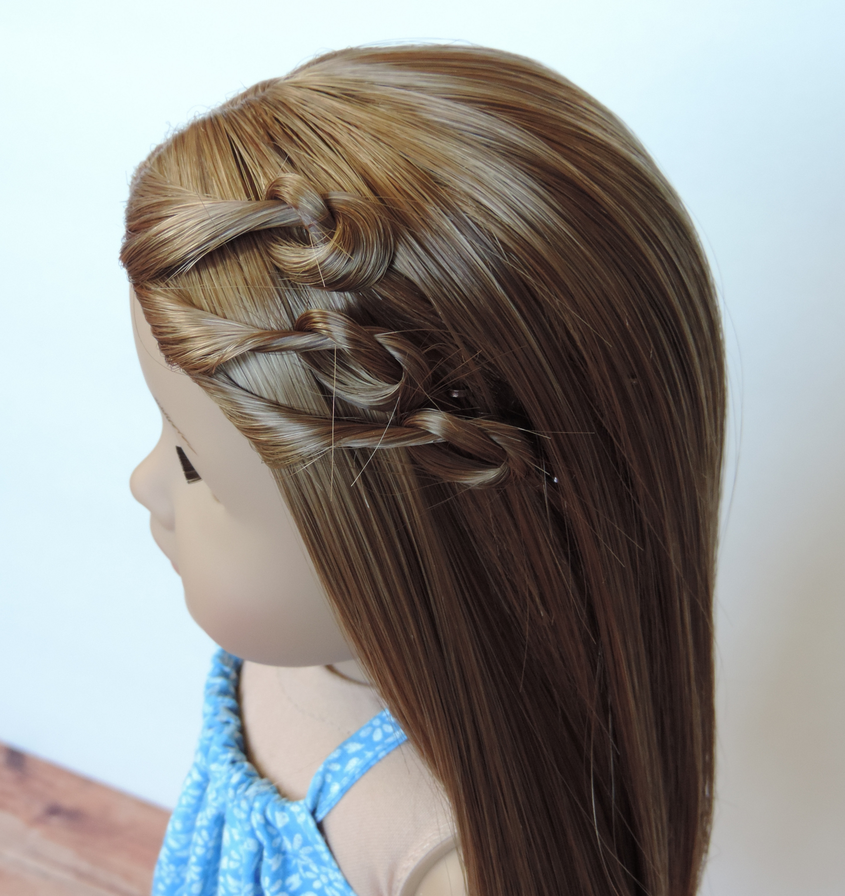 Easy American Girl Doll Hairstyles   Latest Hairstyles And Haircuts For Hairstyles For American Girl Dolls With Short Hair (View 21 of 25)