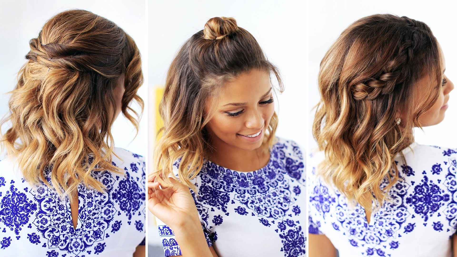 Easy Cute Hairstyles For Short Hair – Hairstyles Ideas With Regard To Cute Hairstyles With Short Hair (View 5 of 25)