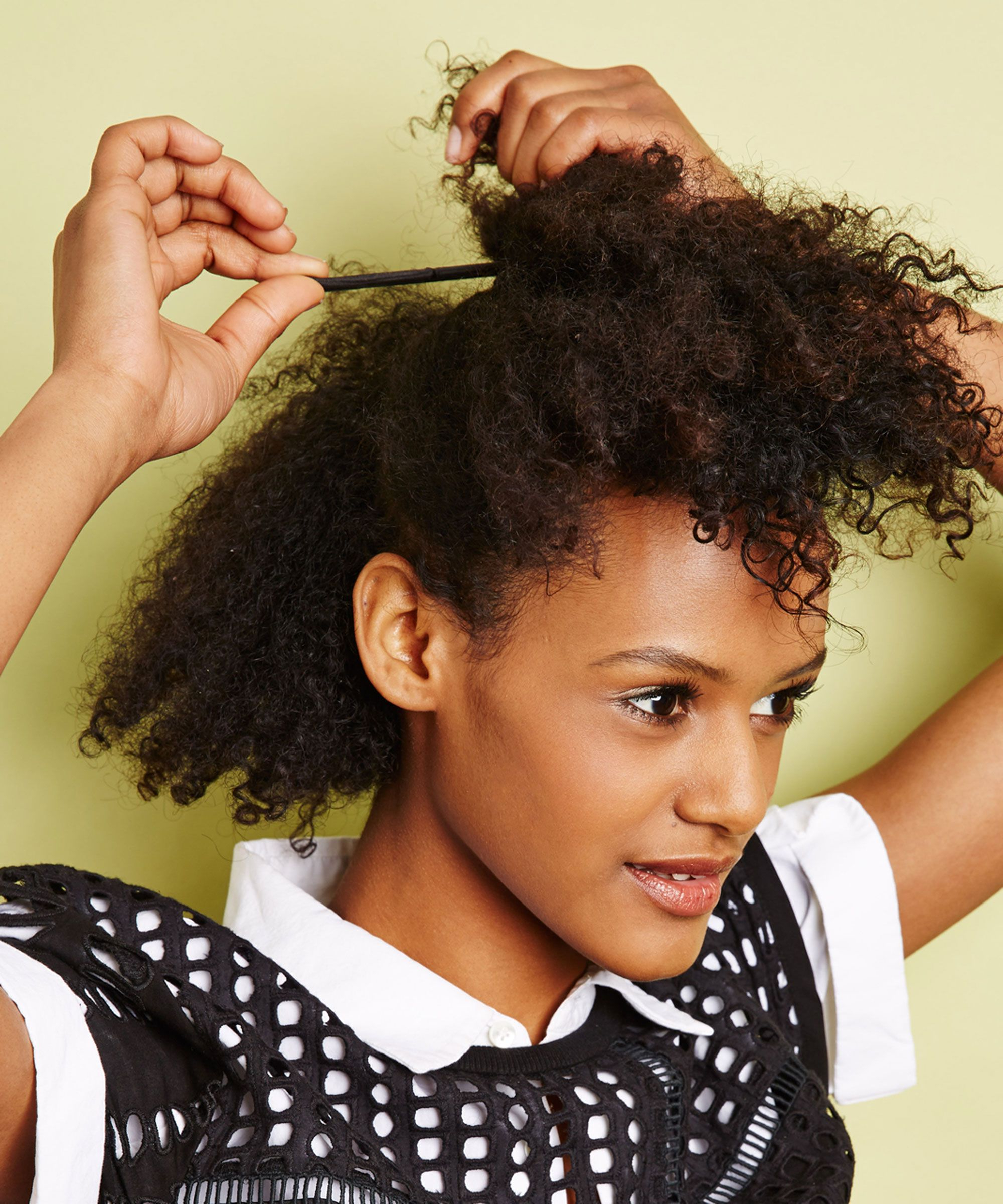 Easy Natural Hairstyles For Transitioning Hair With Short Haircuts For Transitioning Hair (View 8 of 25)