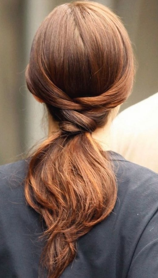 Featured Photo of Tangled And Twisted Ponytail Hairstyles