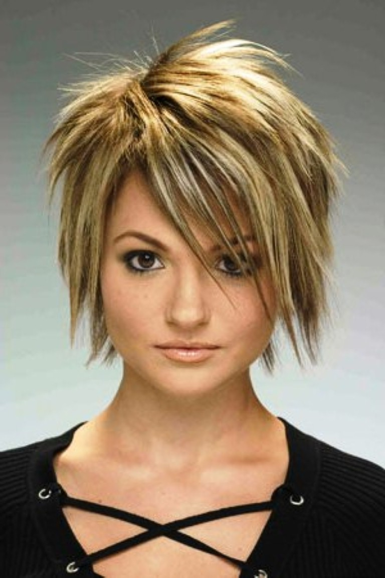 Edgy Spiky Haircut Short Thick Hair – Thewolfian Fashion Mag Intended For Edgy Short Haircuts For Thick Hair (View 19 of 25)