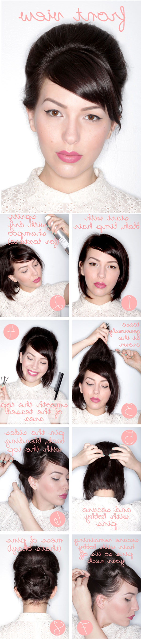 Elegant Hairstyles For Special Occasions Regarding Short Hairstyles For Special Occasions (View 18 of 25)