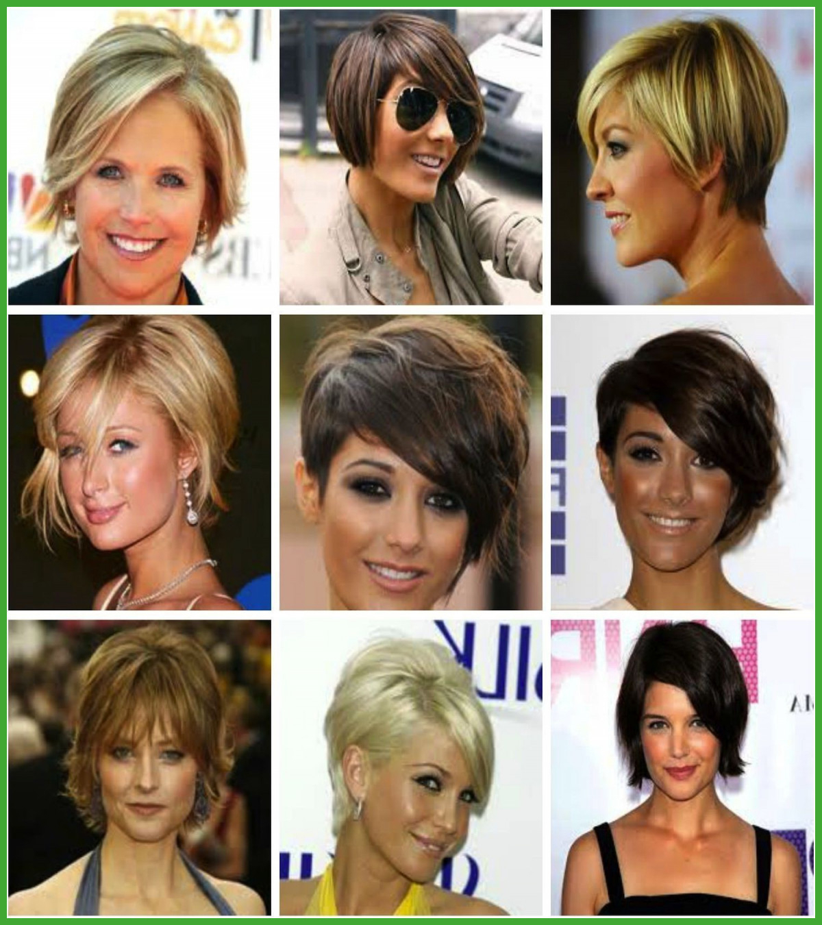 Elegant Short Hairstyles For Thick Hair And Oval Face – Uternity With Short Haircuts For Chubby Oval Faces (View 22 of 25)