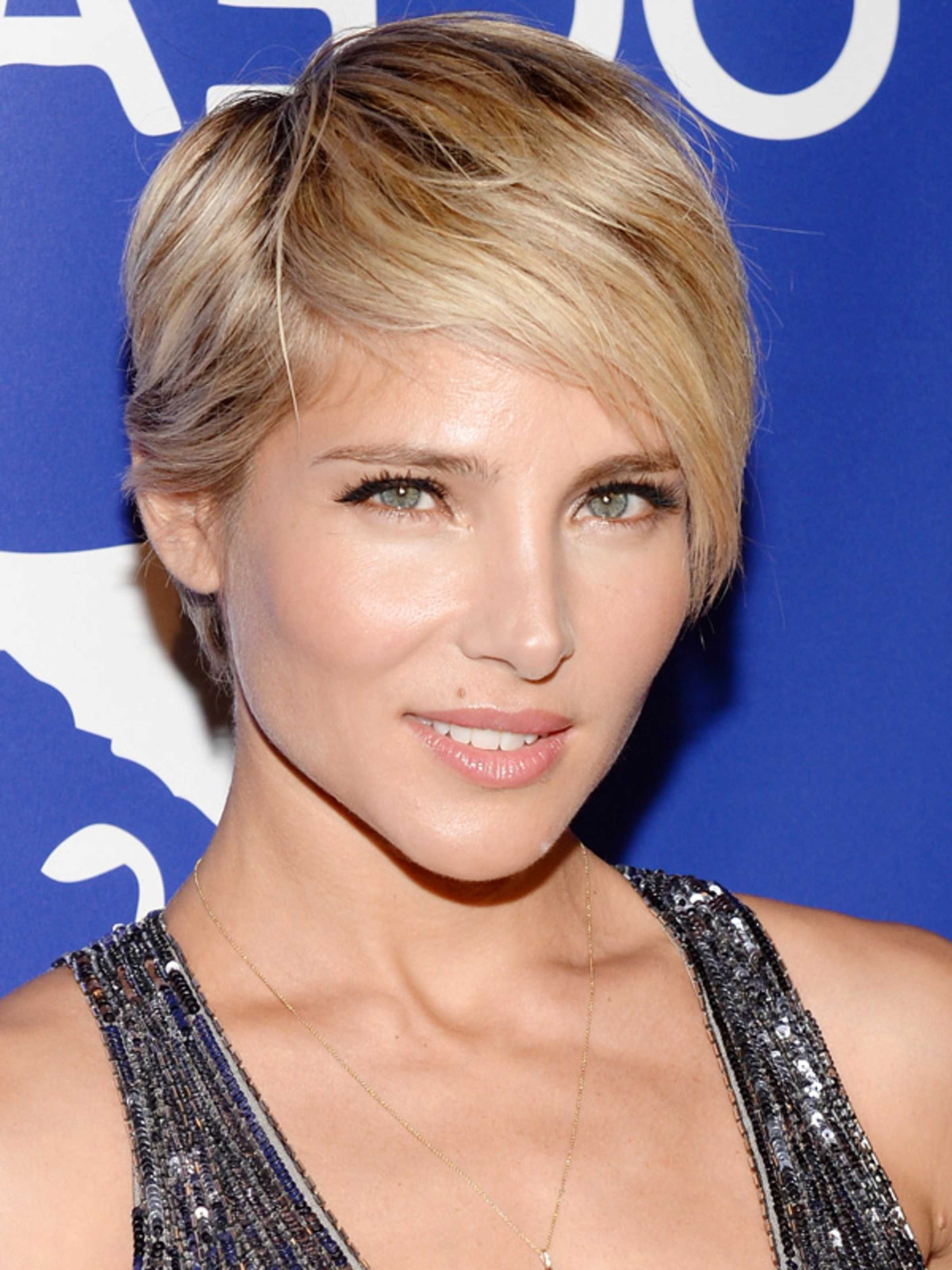 Elsa Pataky Has The Best Short Haircut I've Ever Seen | Short Hair With Short Hairstyles For High Cheekbones (View 6 of 25)