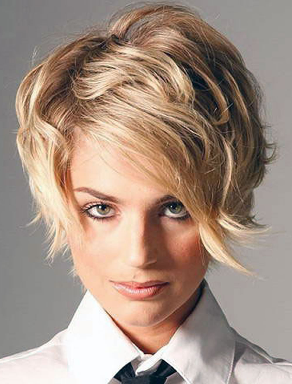 Engaging Side Swept Short Hairstyles For Thick Hair – Hairstyles With Regard To Side Swept Short Hairstyles (View 7 of 25)