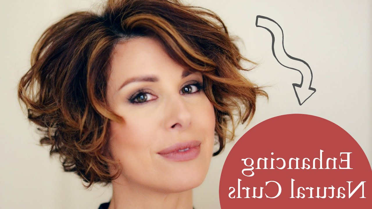 Enhancing Short Naturally Curly Hair – Youtube With Regard To Naturally Curly Short Haircuts (View 4 of 25)