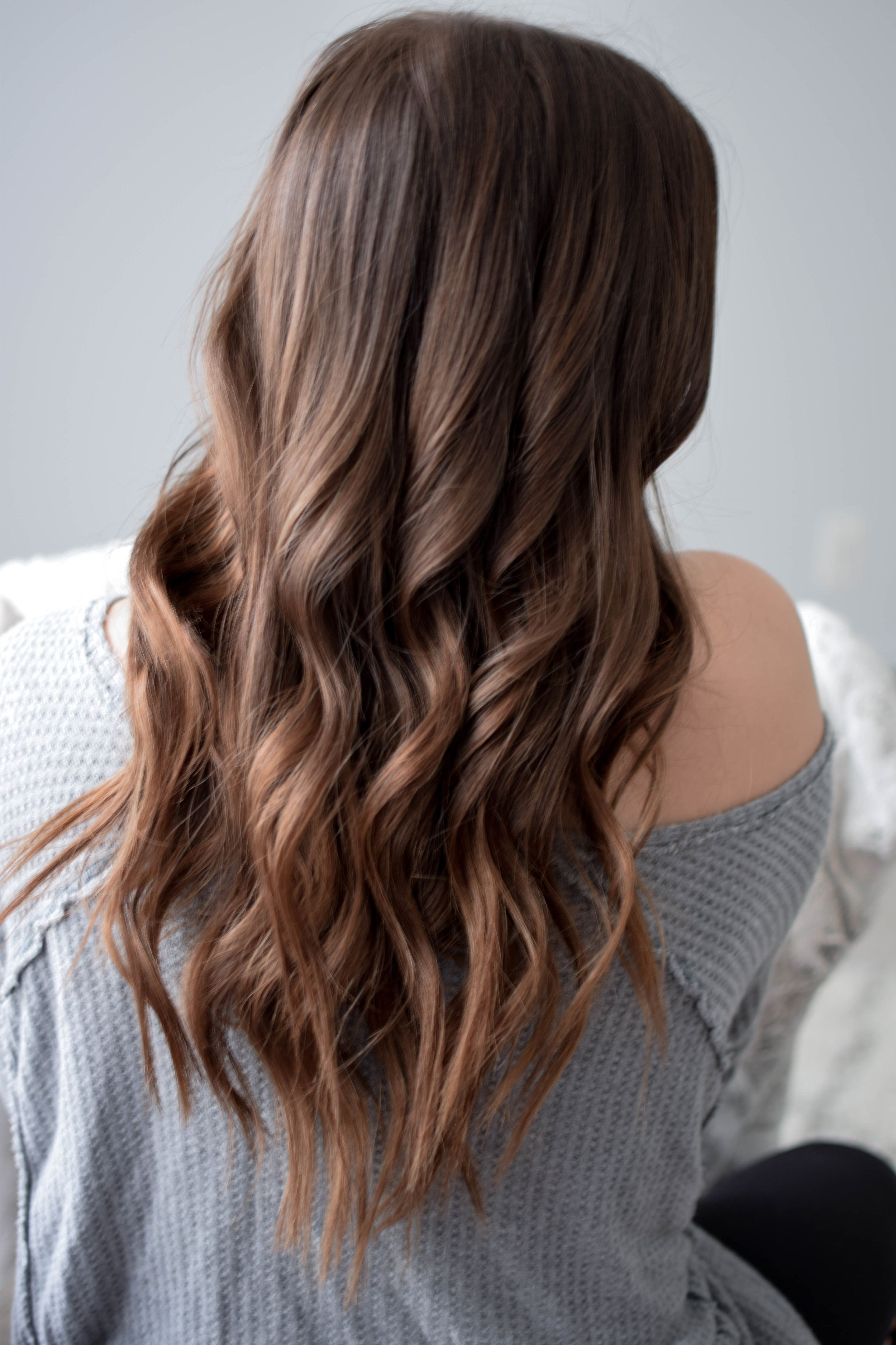 Every Day Waves Hair Tutorial In 2018 | My Blog Feed | Pinterest In Loosely Waved Messy Brunette Bob Hairstyles (View 2 of 25)