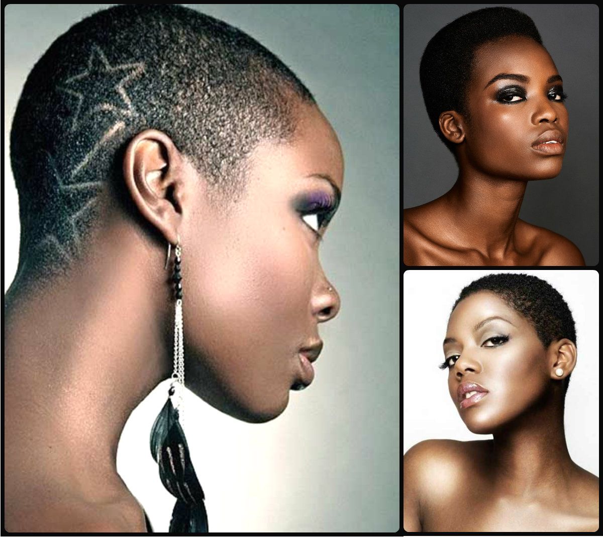 Extra Short Natural Black Hairstyles | Hairstyles 2017, Hair Colors Inside Really Short Haircuts For Black Women (View 16 of 25)