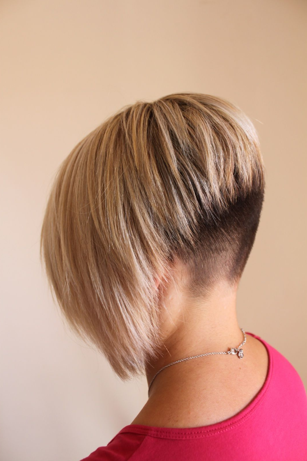 Fade Nape Inverted Bob  Love This!! (Try For Late Spring Pertaining To Inverted Short Haircuts (View 9 of 25)