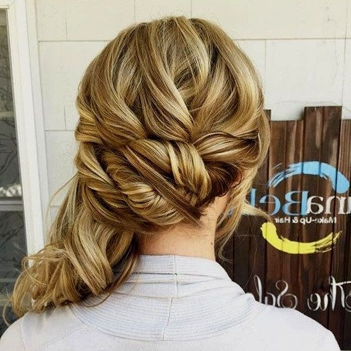 Fall Hairstyles 2017 – 20 Autumn Hair And Color Ideas | Pinterest Intended For Fancy Updo With A Side Ponytails (View 20 of 25)