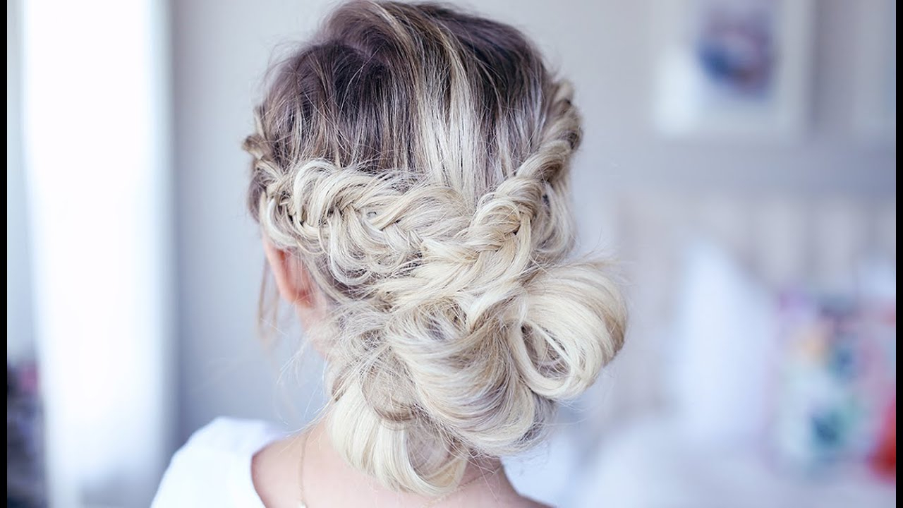 Fancy Fishtail Updo | Homecoming Hairstyle | Cute Girls Hairstyles Intended For Cute Short Hairstyles For Homecoming (View 15 of 25)