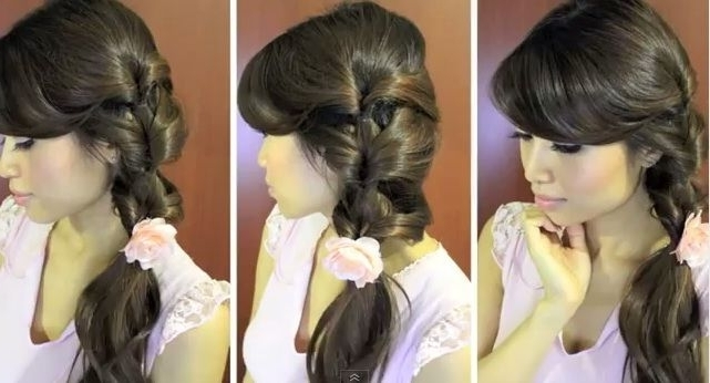 Fancy Side Ponytail In 2 Minutes | Beauty | Pinterest | Side Within 2 Minute Side Pony Hairstyles (View 14 of 25)