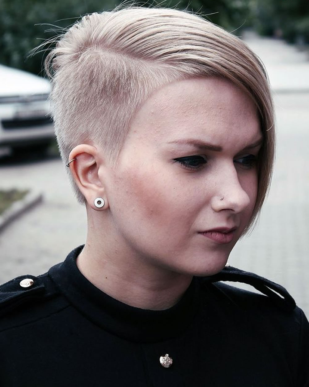Feminine Extreme Short Haircuts For Ladies 2018 2019 – Hairstyles Inside Feminine Short Hairstyles For Women (View 6 of 25)