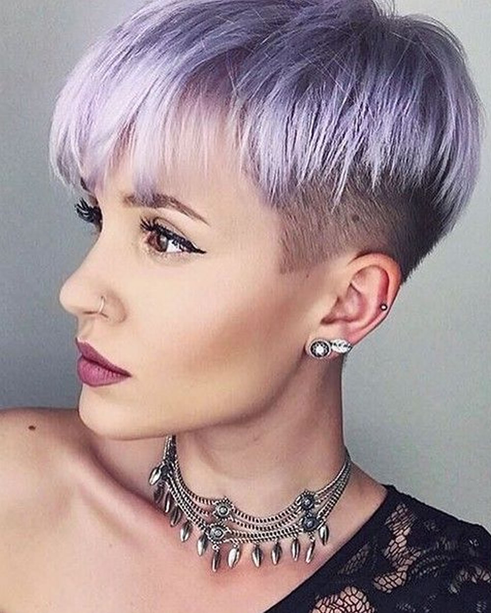 Feminine Extreme Short Haircuts For Ladies 2018 2019 – Page 2 Regarding Feminine Short Haircuts (View 2 of 25)