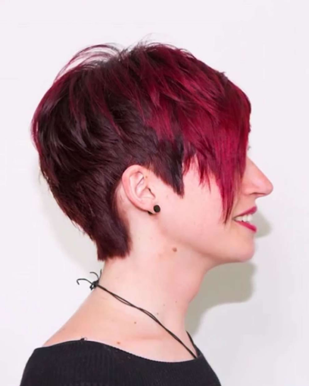Feminine Extreme Short Haircuts For Ladies 2018 2019 – Page 5 In Feminine Short Haircuts (View 12 of 25)