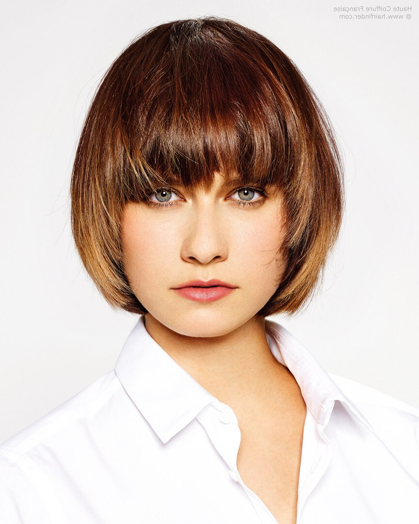 Feminine Short Hairstyle With Wisps That Frame The Face For Face Framing Short Hairstyles (View 10 of 25)