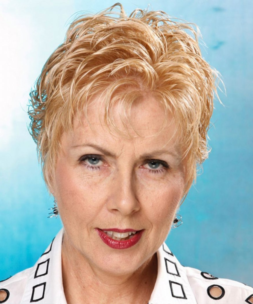 Find Out Full Gallery Of 20 Short Haircuts For Women Over 60 With Intended For Tousled Short Hairstyles (View 25 of 25)