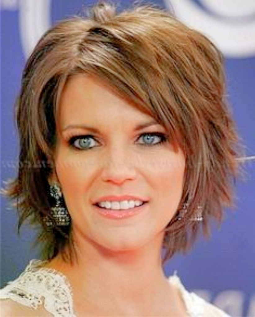 Find Out Full Gallery Of Beautiful Haircuts For Fat Women Over 40 In Short Haircuts For Women Over 40 With Curly Hair (View 20 of 25)