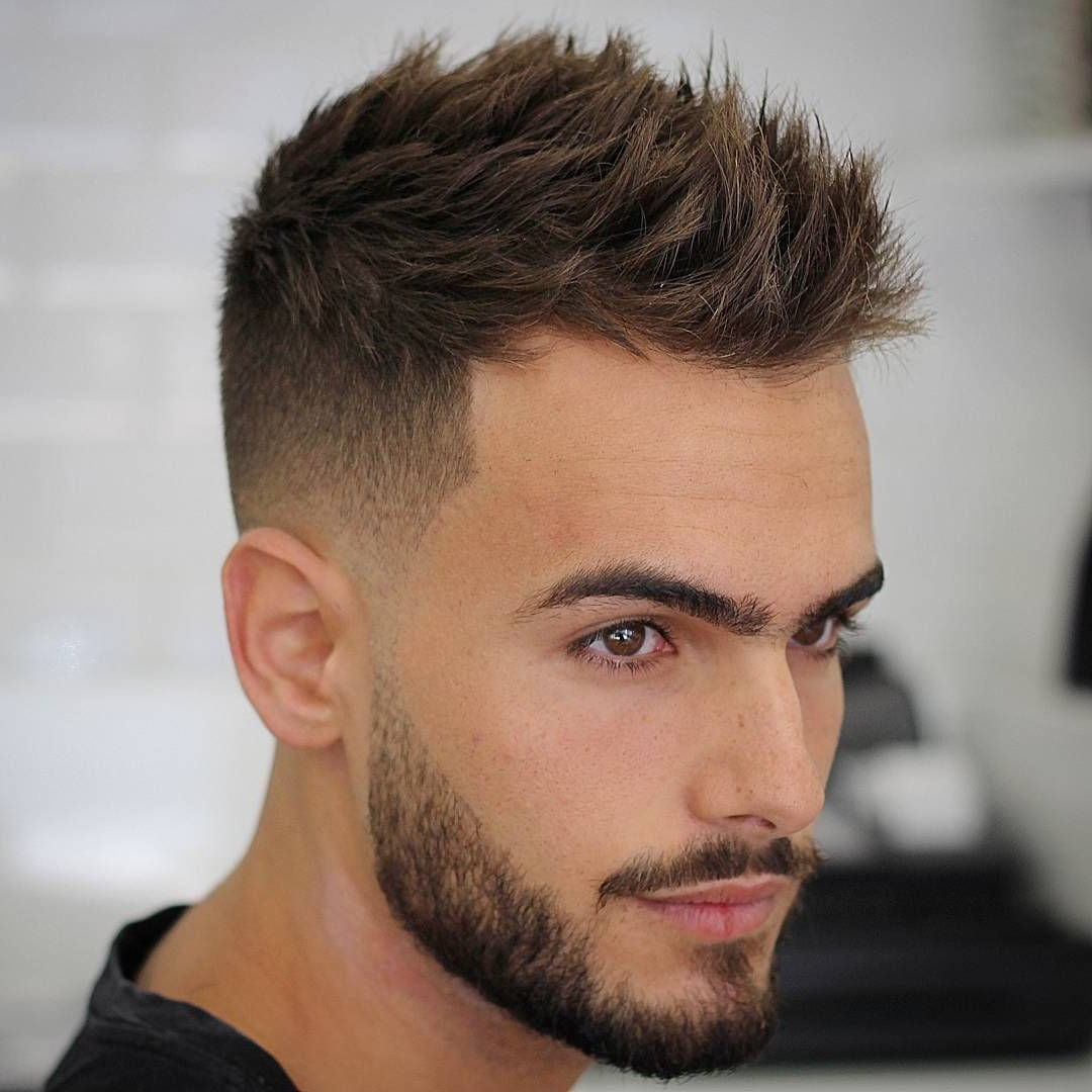 Find Out Full Gallery Of Fresh Swept Mens Hairstyles throughout Short And Simple Hairstyles