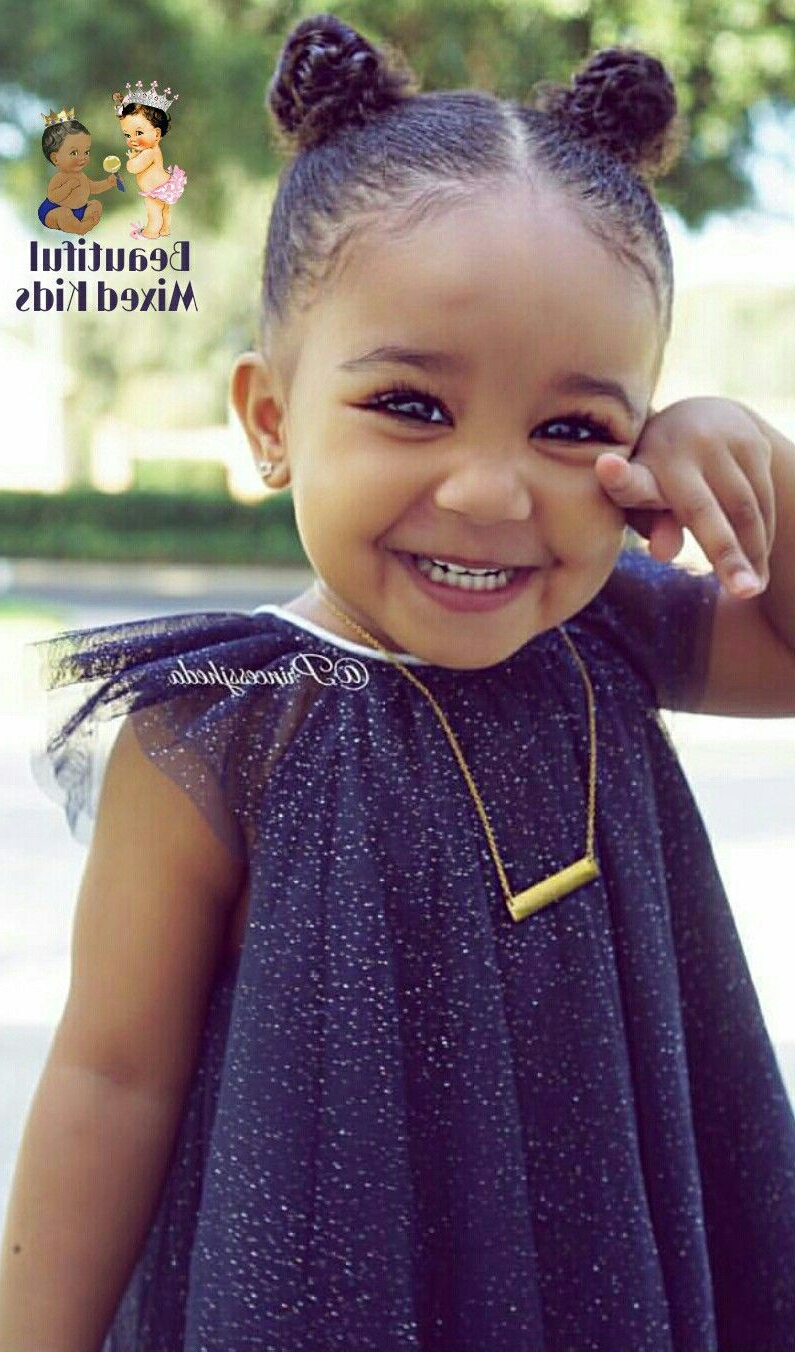 Find Out Full Gallery Of New Black Baby Hairstyles For Short Hair With Black Baby Hairstyles For Short Hair (View 6 of 25)