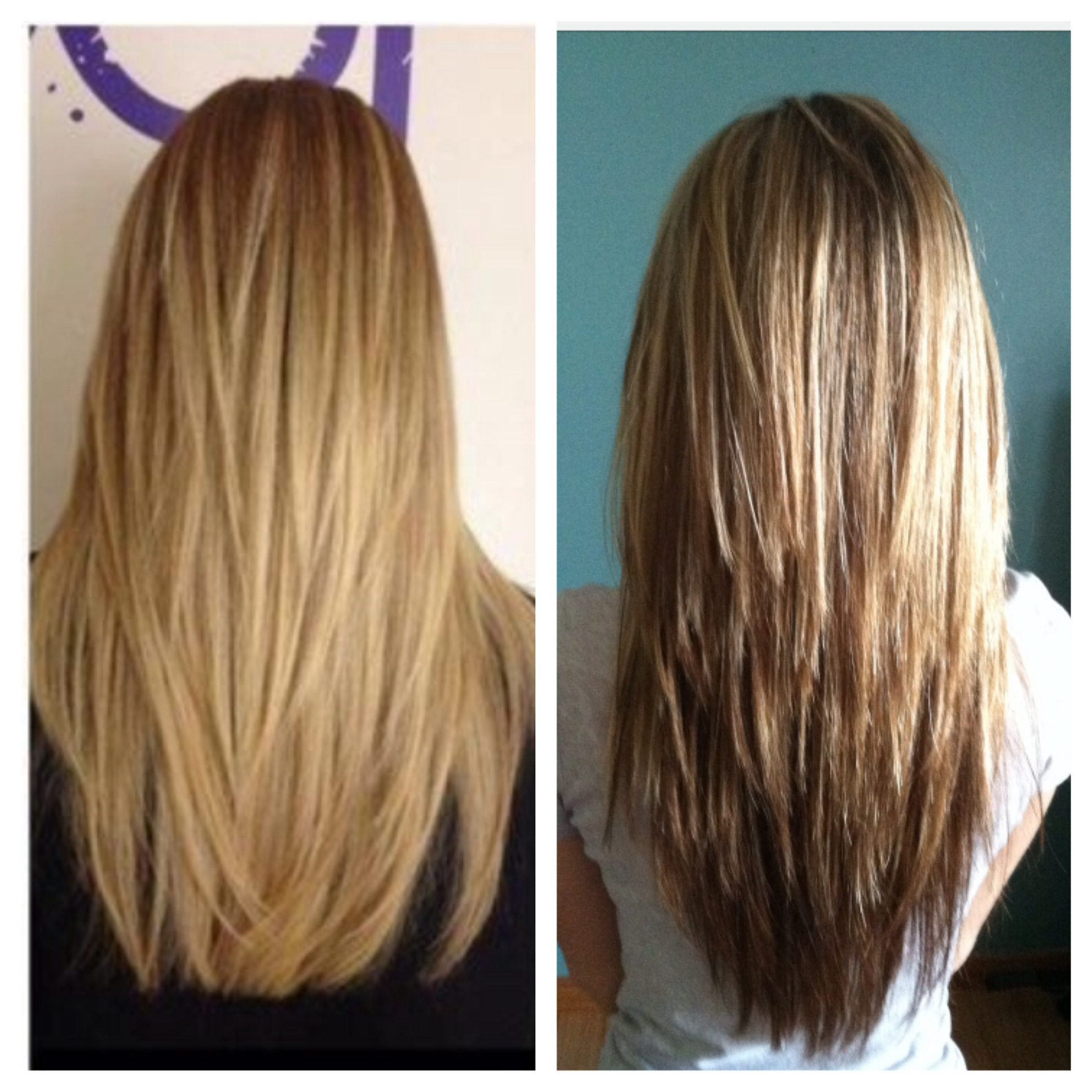 Find Out Full Gallery Of Perfect V Shaped Long Layered Hair Within V Shaped Layered Short Haircuts (View 6 of 25)